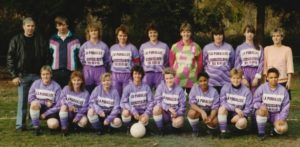 équipe féminime 1990
